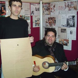 planos antiguos de guitarra