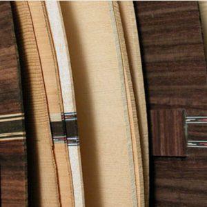 guitars back wood