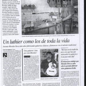 luthier toda la vida