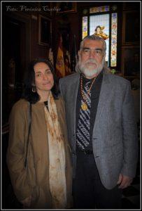 Gabriela Canseco y Antonio Morales