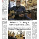 Gitarrenbauer Antonio Morles