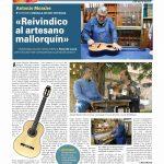 Luthier Antonio Morales medalla de oro Palma de Mallorca
