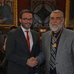 Alcalde de Palma de Mallorca y Antonio Morales