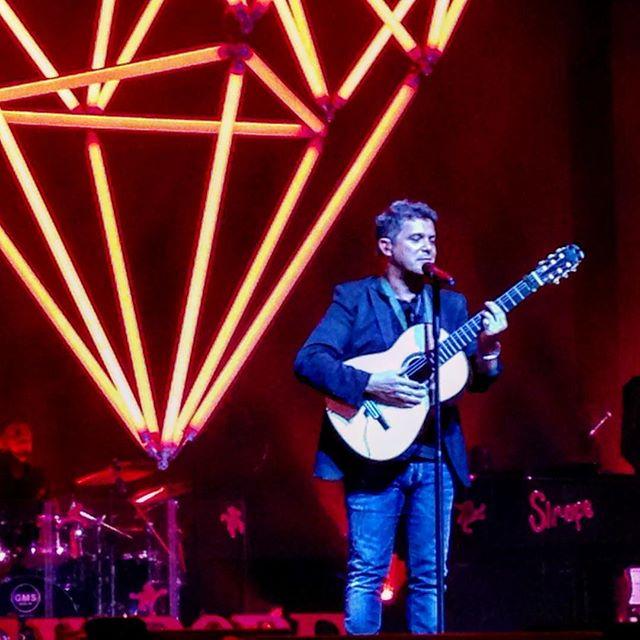 Alejandro Sanz concierto guitarra