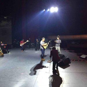 Alejandro Sanz guitarra ensayo