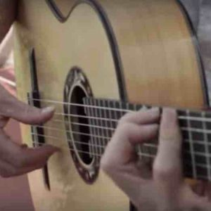 Tino guitarra flamenca