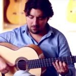 Guitarrista Antonio Rey interpreta Taranta