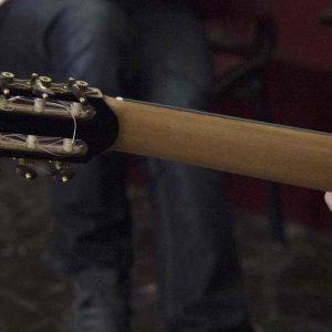 Cabeza guitarra española