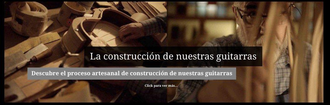 Proceso artesanal de construcción de nuestras guitarras