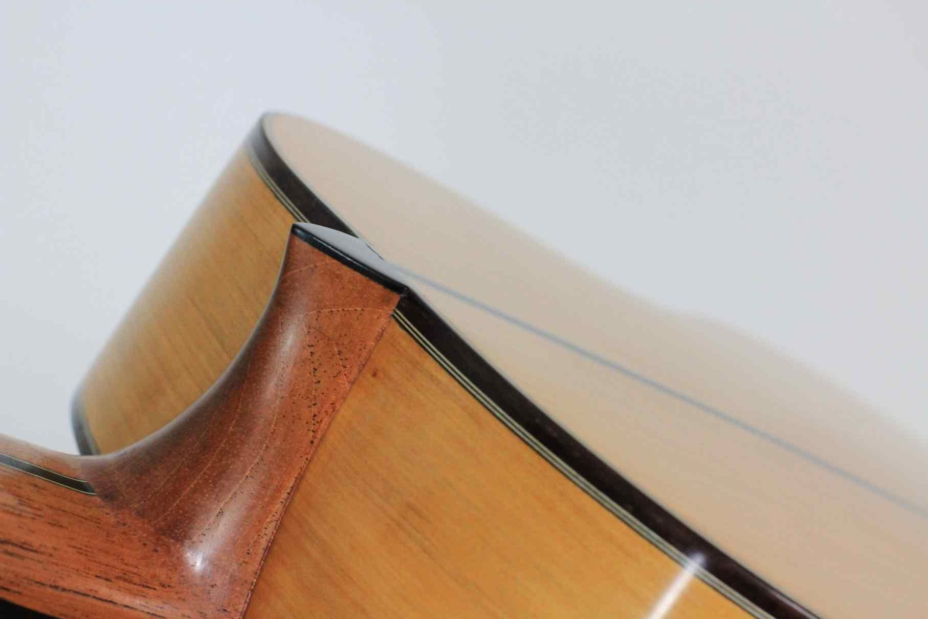 Cypress and spruce flamenco guitar