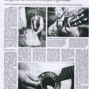 guitarra concepto espiritual