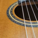 Classical cedar guitar