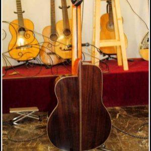 guitarra amplificable palosanto