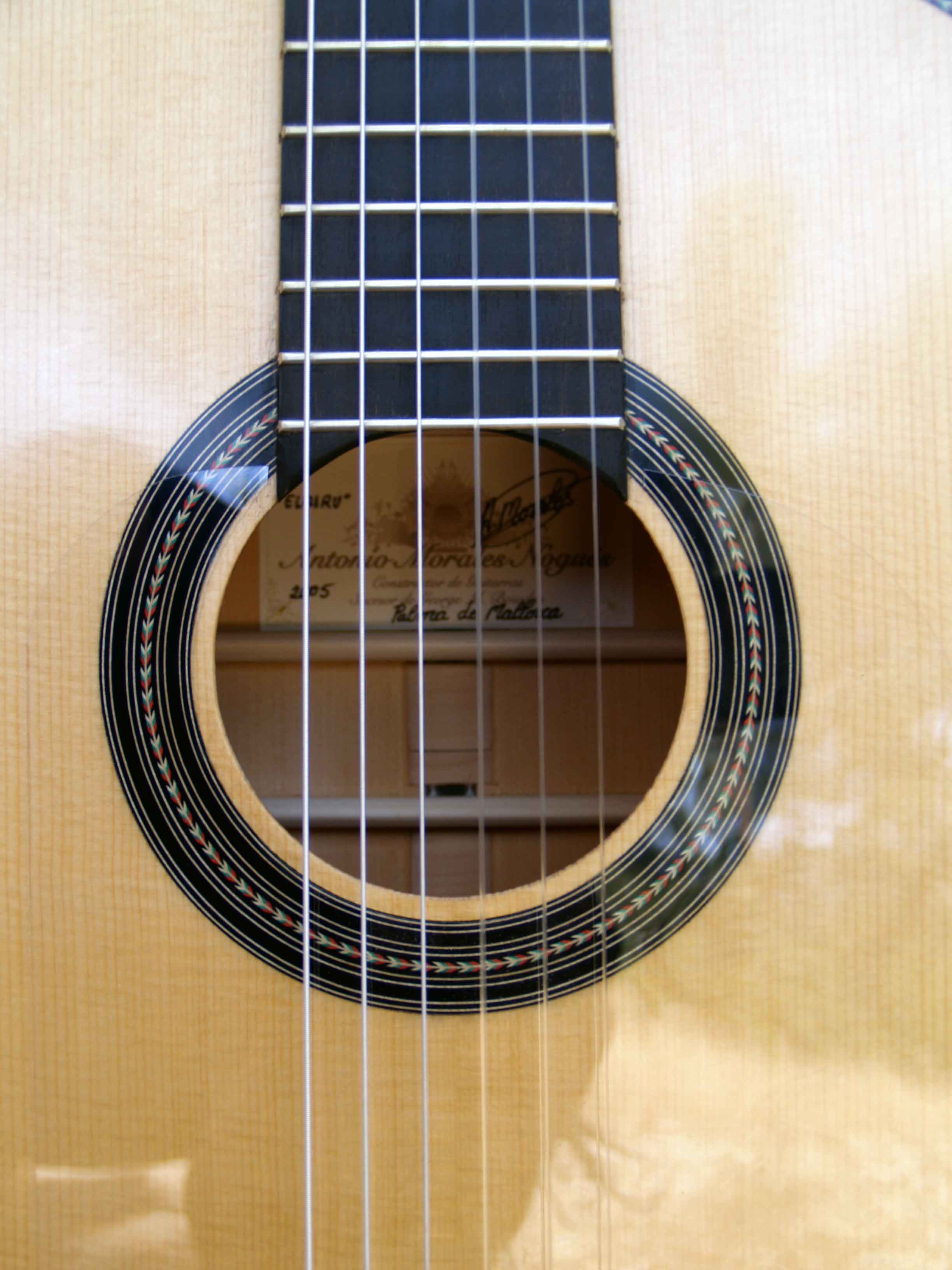 Flamenco guitar spikes rosette