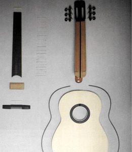 Guitarra por piezas 1