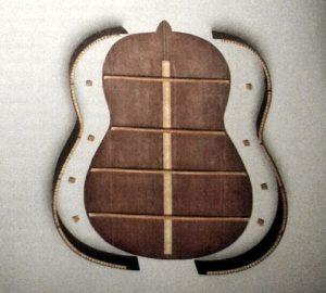 Guitarra por piezas 2