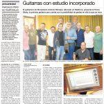 guitarras con estudio incorporado
