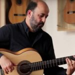 Mahmoud Turkmani guitar player plays Taranta
