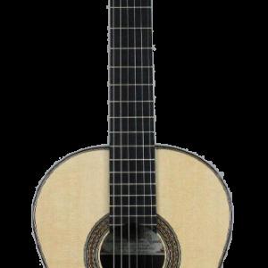 Guitarra de frente réplica de guitarra santos hernández