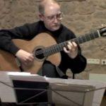 Guitarrista Josep Sbert interpreta a Frescobaldi