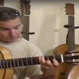 Guitarrista flamenco