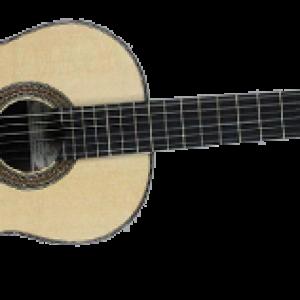 guitarra inclinada