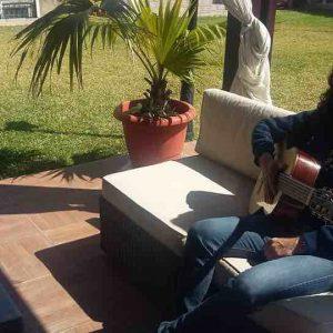 """Tomatito con la guitarra """"La Maestro"""""""