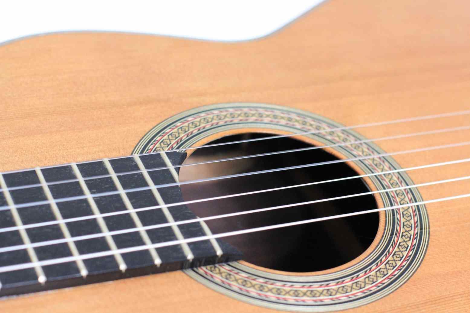 Rosewood and cedar classical guitar