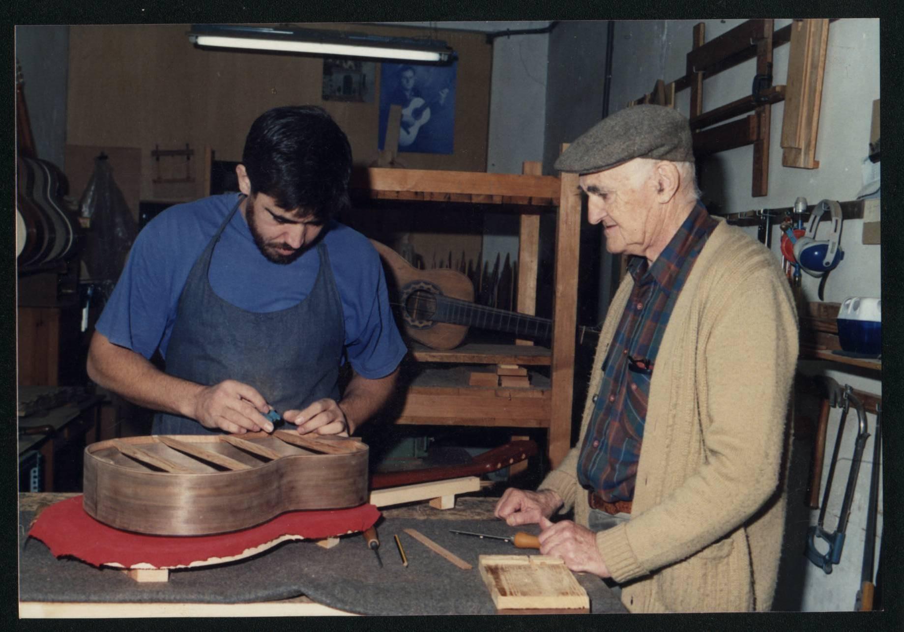constructores de guitarras