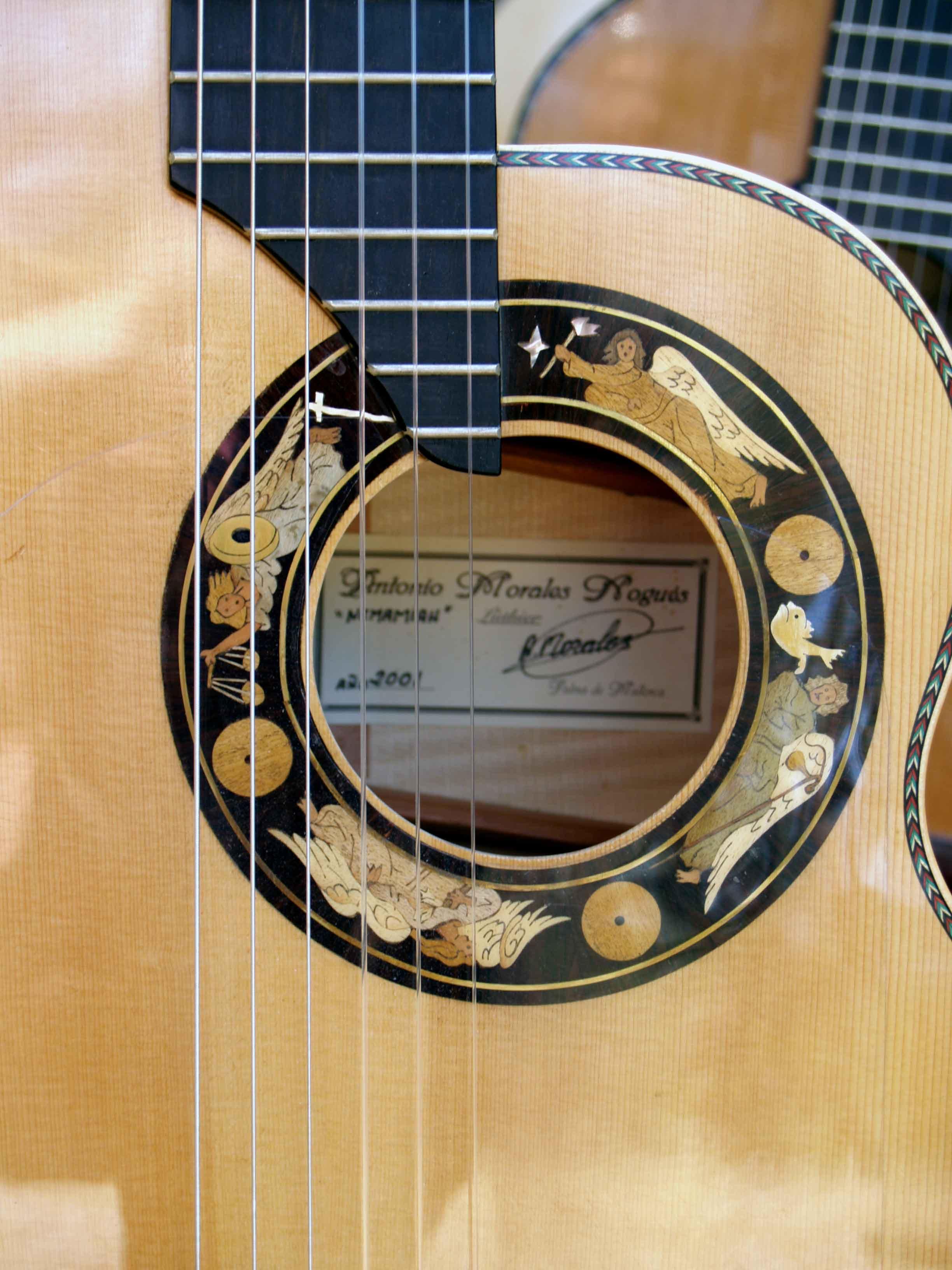 cutaway spanish guitar
