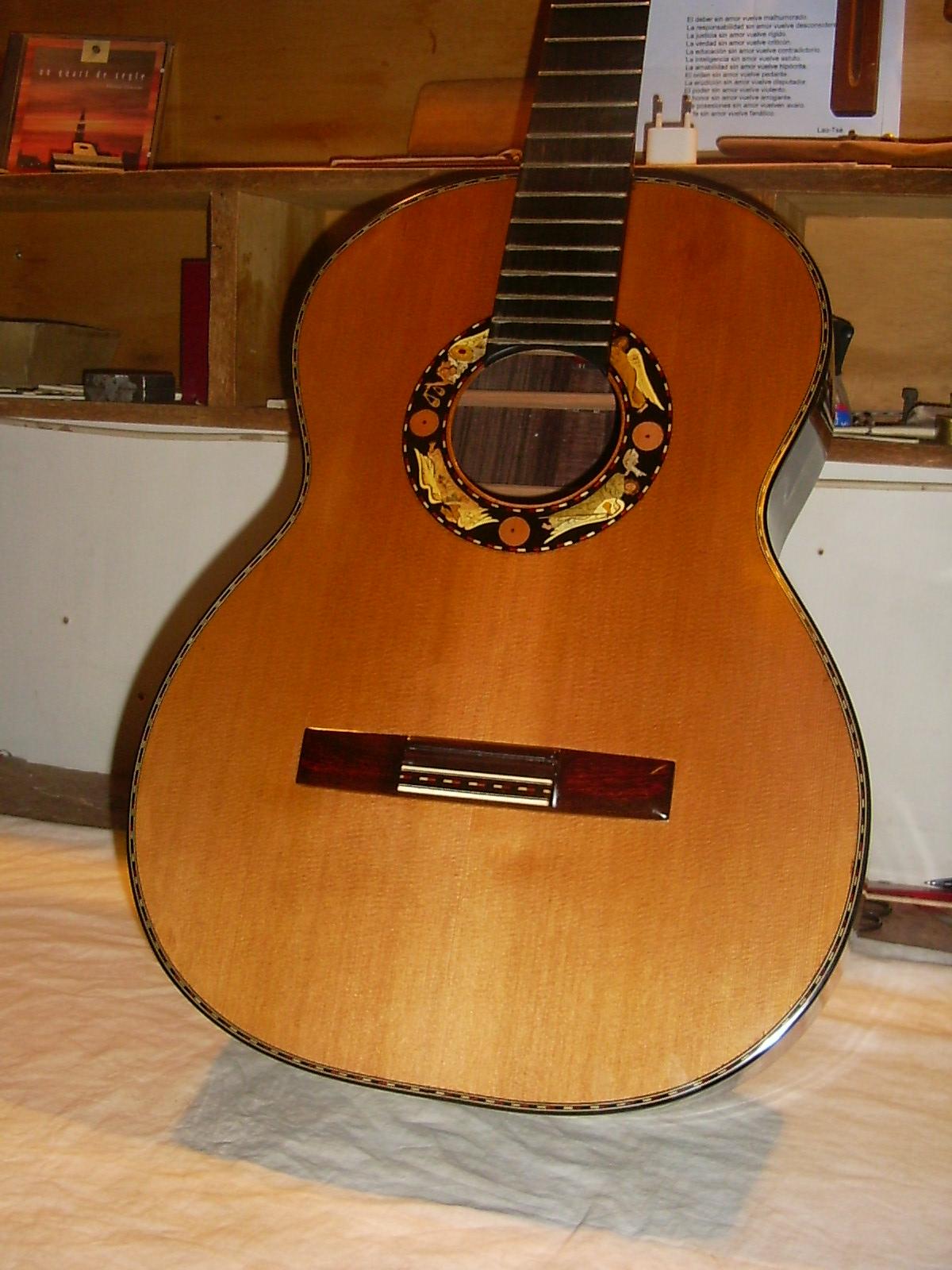 guitarra boca decoracion