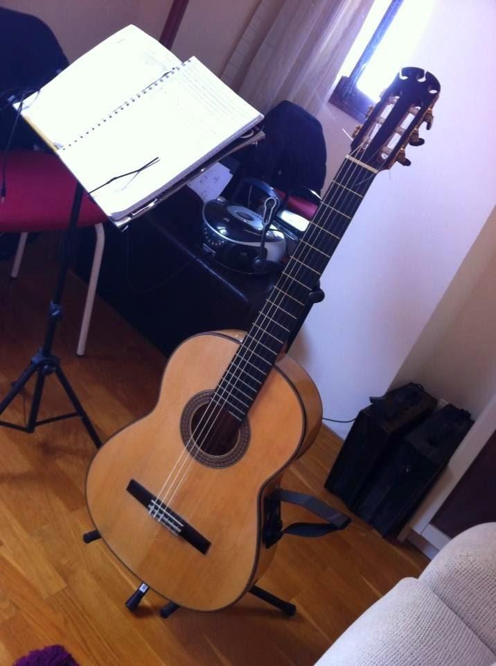 """Cypress flamenco guitar """"Maestro"""" model"""