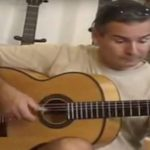 Guitarrista pepe fernández guitarra flamenca