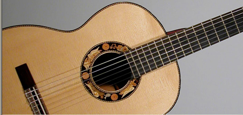 Flamenco guitar archangels decoration