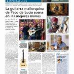 La guitarra mallorquina de Paco de Lucía